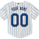 NY Mets Replica Personalized Kids Home Jersey