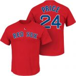 David Price T-Shirt – Red Boston Red Sox Adult T-Shirt