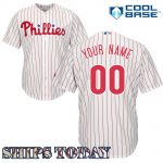 Philadelphia Phillies Replica Personalized Home Jersey