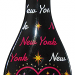 NYC Pink Heart Ceramic Spoon Rest