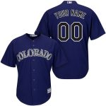 Colorado Rockies Replica Personalized Purple Jersey