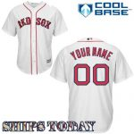 Boston Red Sox Replica Personalized Youth Home Jersey