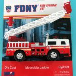 FDNY Ladder Truck Playset
