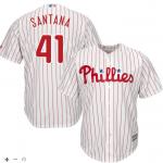 Carlos Santana Youth Jersey – Philadelphia Phillies Replica Kids Home Jersey