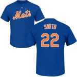Dominic Smith T-Shirt – Blue NY Mets Adult T-Shirt