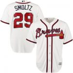 John Smoltz Jersey – Atlanta Braves Replica Adult Home Jersey
