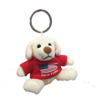 New York American Flag Plush Teddy Red T-Shirt