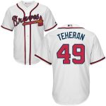 Julio Teheran Jersey – Atlanta Braves Replica Adult Home Jersey