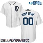 Detroit Tigers Replica Personalized Youth Home Jersey