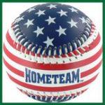 American Flag Baseball
