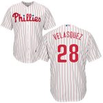 Vincent Velasquez Jersey – Philadelphia Phillies Replica Adult Home Jersey