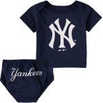 NY Yankees Baby Navy 2- pc. Set