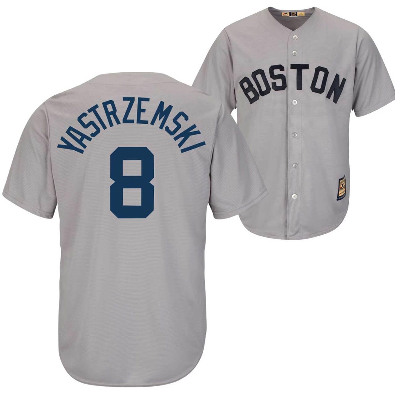 sports shoes dd11e 6a3c3 Carl Yastrzemski Jersey – Boston Red Sox Cooperstown ...