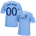 NYCFC Personalized Blue Youth Jersey