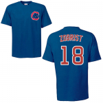 Ben Zobrist T-Shirt – Blue Chicago Cubs Adult T-Shirt